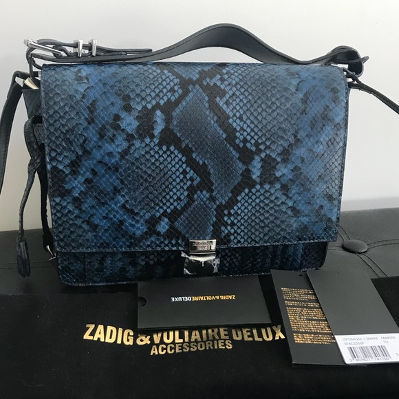 1932316982c9 Zadig   Voltaire Deluxe Optimiste Snake bag